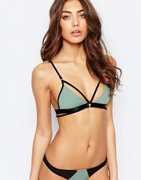 Lira - Harlo - bustier-bikini - meerschaum
