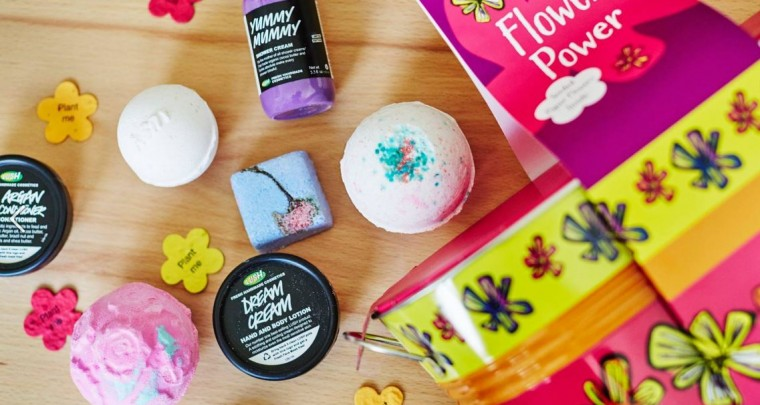 Good for you and your environment - Lush cosmetics