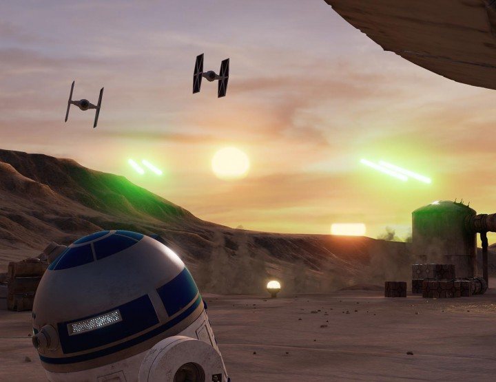 Kostenloses Star Wars VR-Spiel – Trials on Tatooine