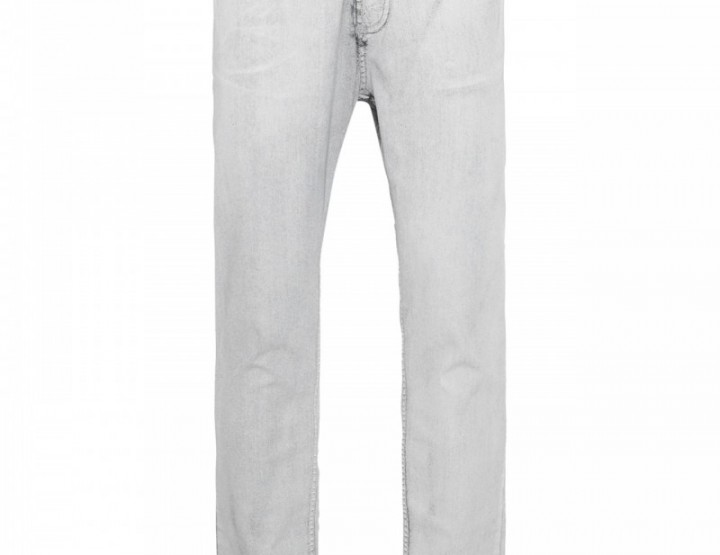 white colored black Five Pocket jeans