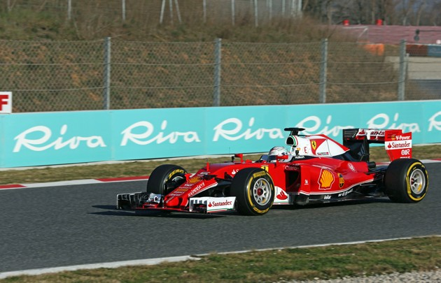 Riva sponsort bei Formel 1