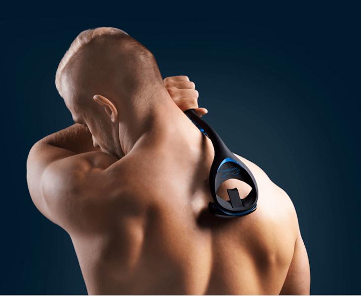Rückenbehaarung