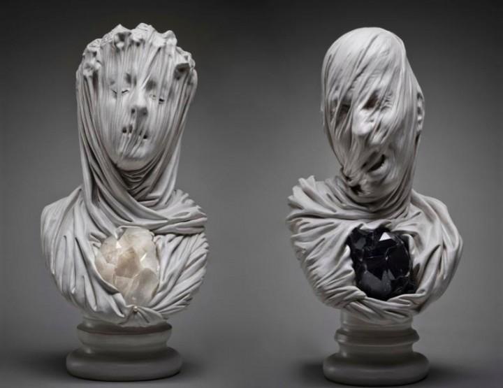 Seelen in Marmor gefangen - Die Kunst von Livio Scarpella