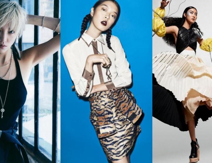 Drei herausragende südkoreanische Models