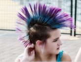 Spikes, mohawks and Co - The best punk hair styles