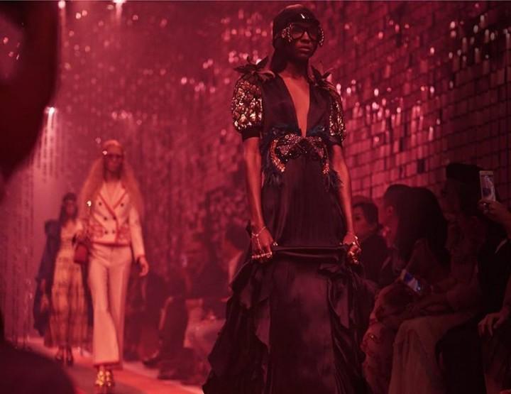 Gucci zeigt sich extravagant und eklektisch