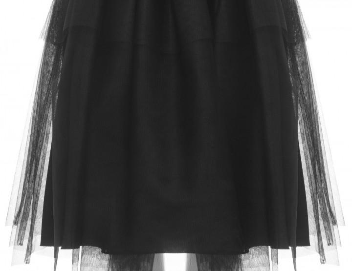 Tüllrock in schwarz