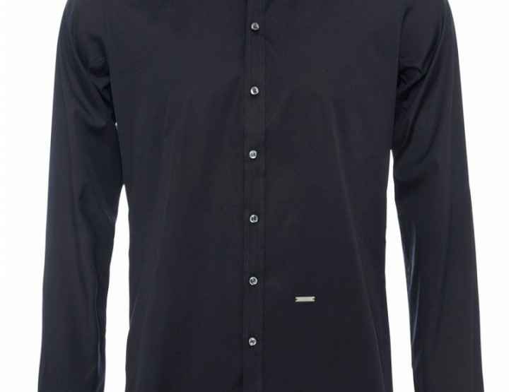 Klassisches Schwarzes Hemd