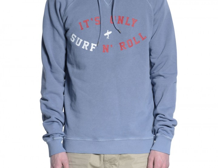 Pigeon blue hoodie Its Only Surf NRoll