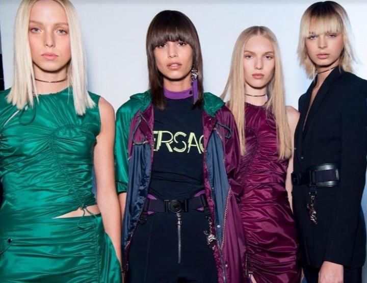Versaces neuer, sportiver Look