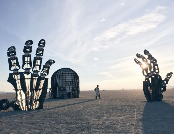 Das war der Burning Man 2016
