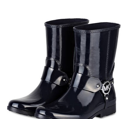 MICHAEL KORS rubber boots FULTON HARNESS