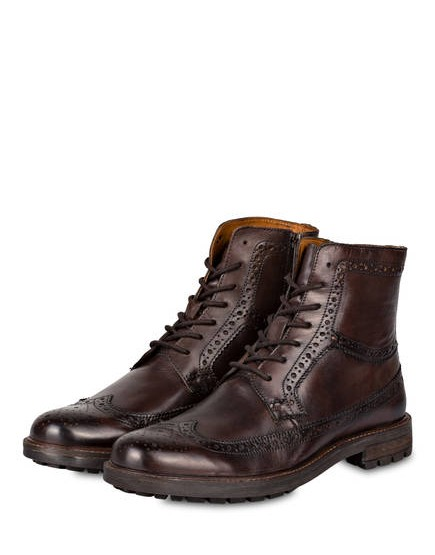 Belmondo lace-up boots