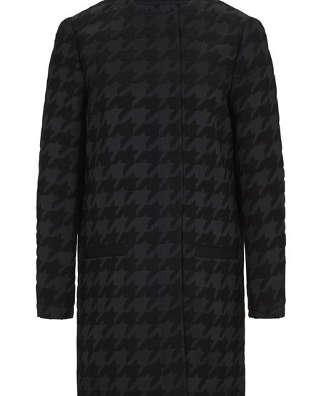 Jacquard short coat