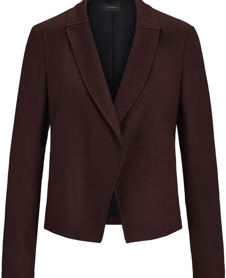 Frisked cotton-jersey blazer jacket