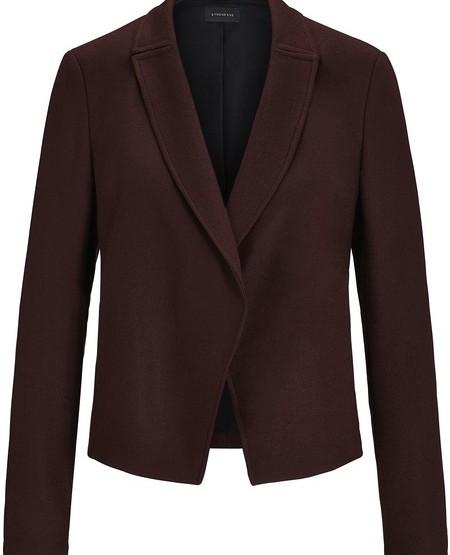Blazerjacke aus gefilztem Woll-Jersey