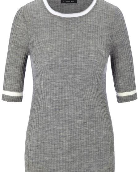 Kurzarm-Pullover Loro Piana Wolle-Kaschmir-Garn