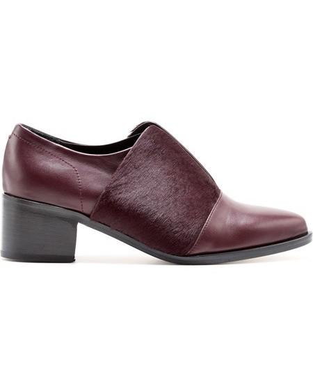 Loafers aus Ziegenleder