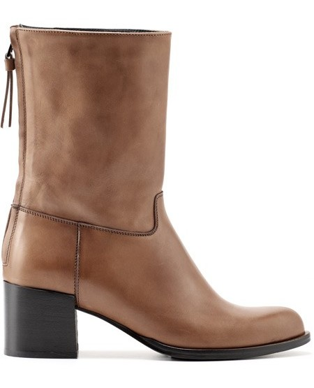 Nappa leather chelsea boot
