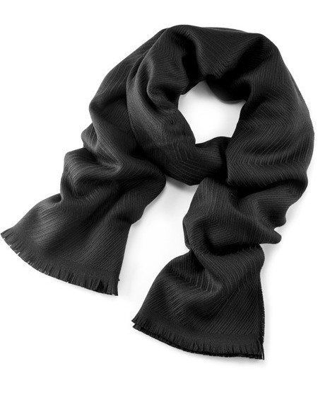 Schal aus weichem Jacquard