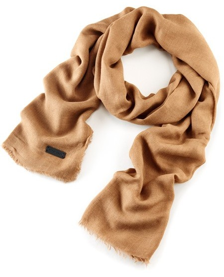 Cotton-voile scarf