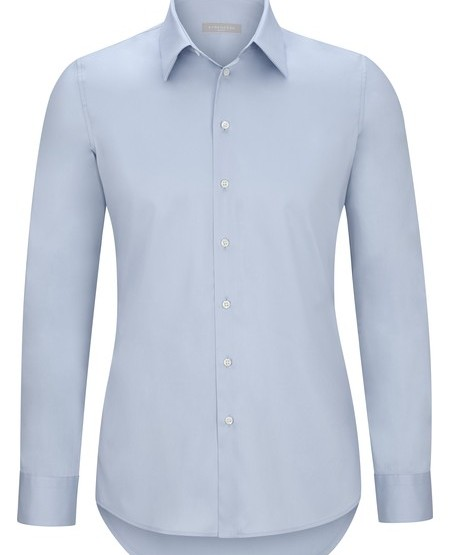 Classic cotton satin business shirt