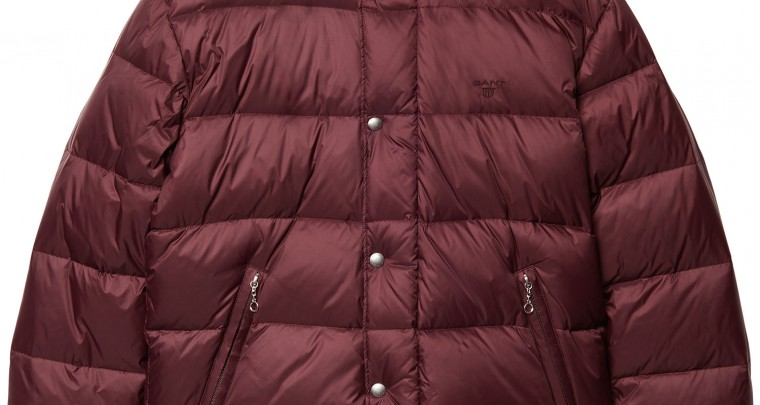 GANT light down jacket for men (L) - red