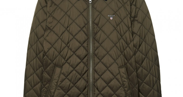 GANT Jacket Windcheater Quilted (M) Verde