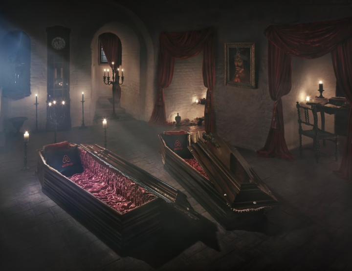 Airbnb lädt in Draculas Schloss
