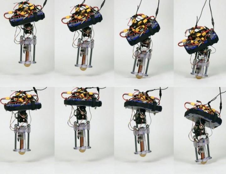Disney's neuer einbeiniger Springroboter