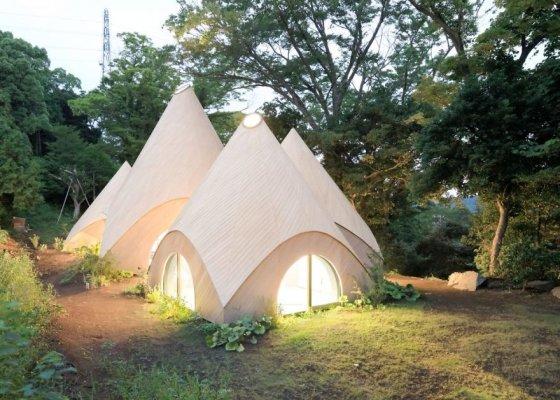 Die Jikka Houses von Issei Suma