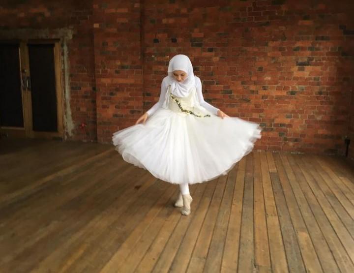 Die erste Hijab-Ballerina der Welt