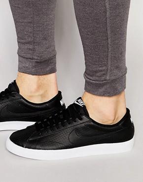 Nike - Tennis AC - Klassische Sneakers in Schwarz 377812-038 - Schwarz