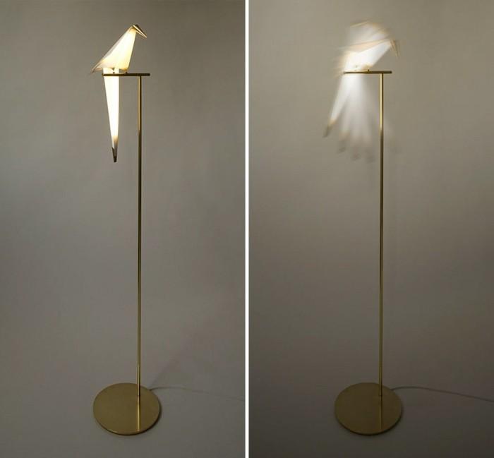 Moderne Leuchten read the trieb moderne leuchten origami stehleuchten vögel