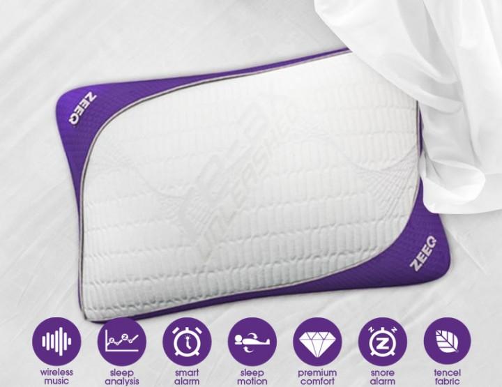 ZEEQ Smart Pillow - Das smarte Kopfkissen