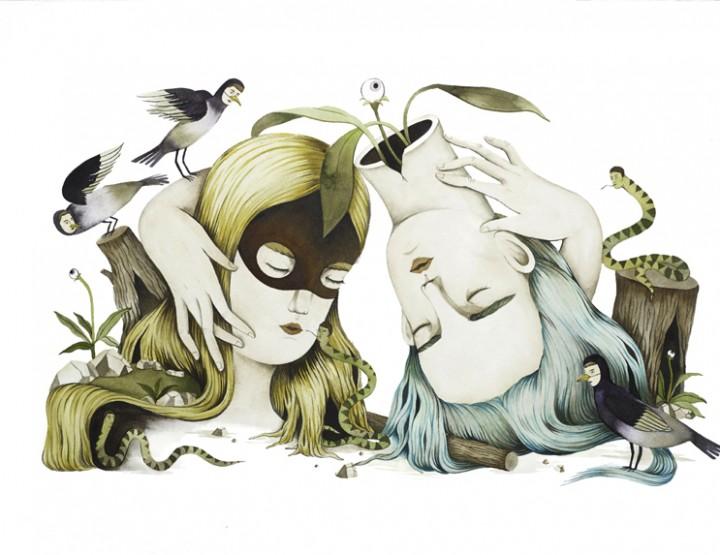 I mondi surreali di Andrea Wan