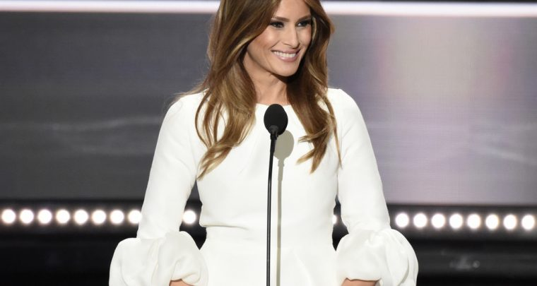 Fashion Designers And The New First Lady Melania Trump