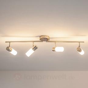 Längliche LED-Deckenleuchte Tamia, 4-flammig