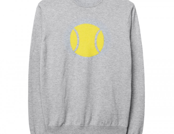 GANT Herren Tennis Sweatshirt (M) Grau