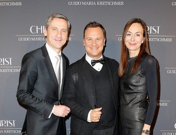 Modedesigner Guido Maria Kretschmer kreiert Schmuck für CHRIST