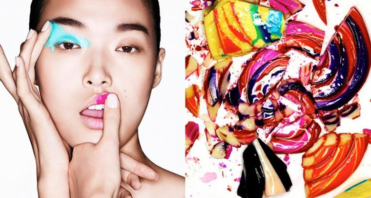 Make-up and Art: Vibrant and wild!
