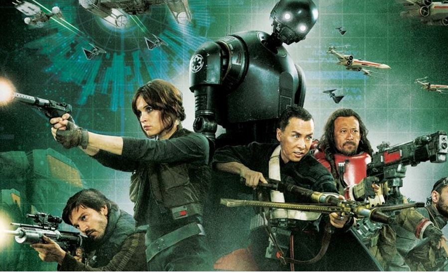 Plakat zu Star Wars - Rogue One. bald im Kino