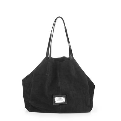 Leather bag - black