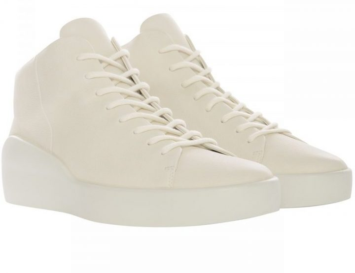 The Last Conspiracy leather sneaker Herdis - offwhite