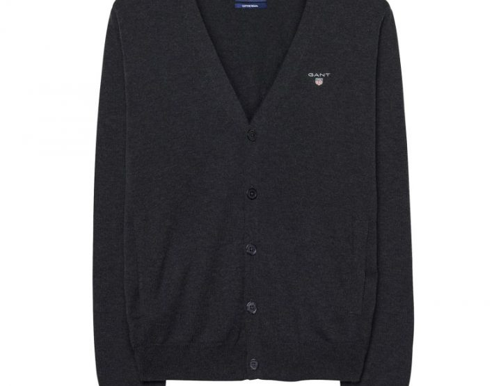 GANT Men's cardigan - grey