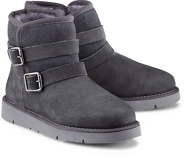 Drievholt Damen Winter-Boots - grau-dunkel