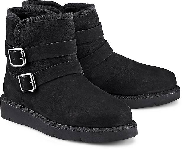 Drievholt Damen Winter-Boots, schwarz