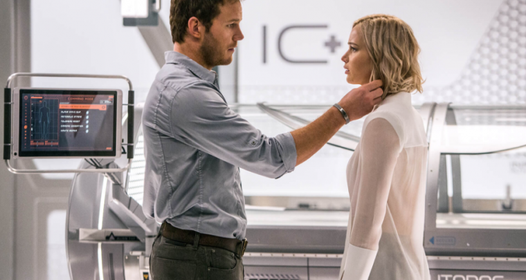 Passengers - Movie kick-off of 2017