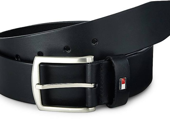 Tommy Hilfiger men's belt NEW DENTON - black