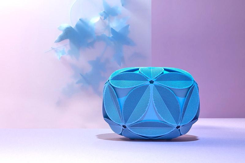 Amure Clutch, mit einem 3D Printer hergestellt, designt von Maison 203